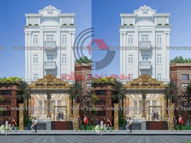 Thiết kế khách sạn đẹp tại Gia Lai