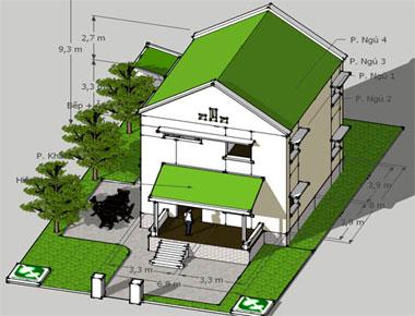 Hợp đồng thiết kế biệt thự – Kiến An Vinh