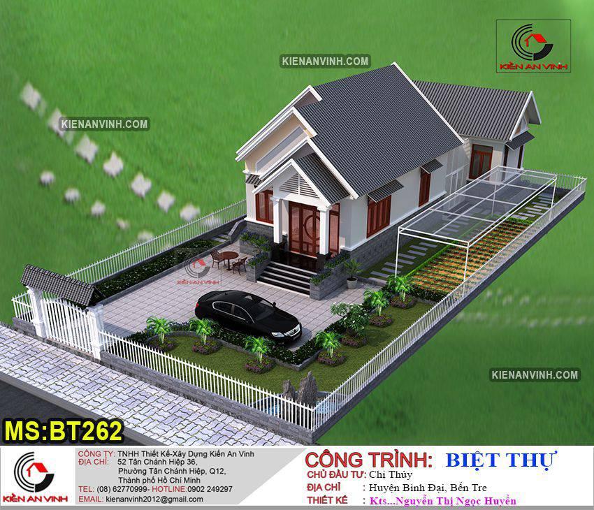 Mẫu-thiết-kế-biệt-thự-nhà-vườn-1-tầng-Bến-Tre-1