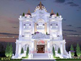 Biệt thự lâu đài 3 tầng tân cổ điển avatar