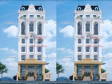 Mẫu thiết kế khách sạn mini đẹp cao cấp