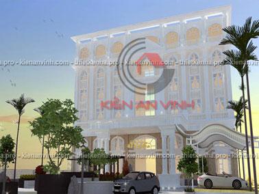 Mẫu thiết kế khách sạn đẹp Đồng Nai