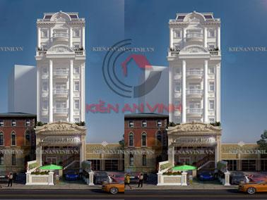 Thiết kế khách sạn đẹp tân cổ điển