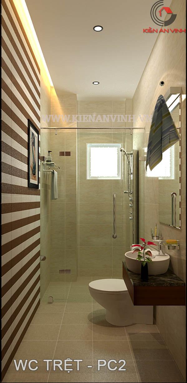 giải pháp thiết kế phòng tắm