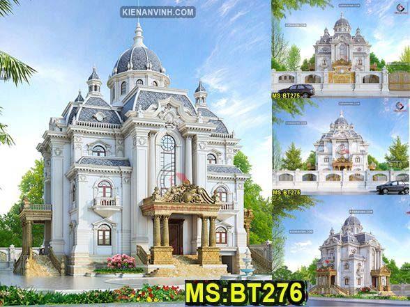Kiến trúc biệt thự lâu đài châu âu cổ kính avatar