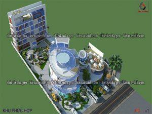 Mẫu thiết kế dự án khu phức hợp đẹp avatar