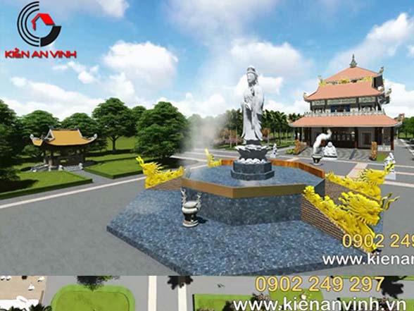 Mẫu thiết kế tháp chùa đẹp Đồng Nai