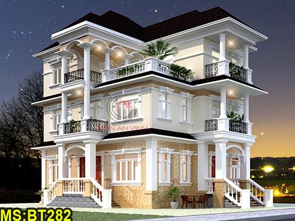 Thiết kế biệt thự 3 tầng BT282 - avatar