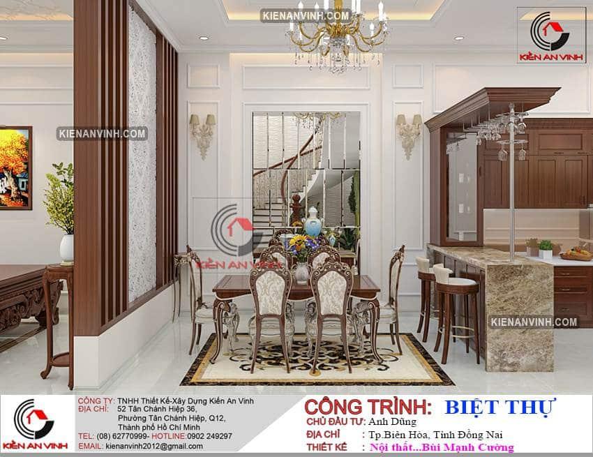 Nhà Biệt Thự 2 Tầng Tân Cổ điển Bt289 - 11