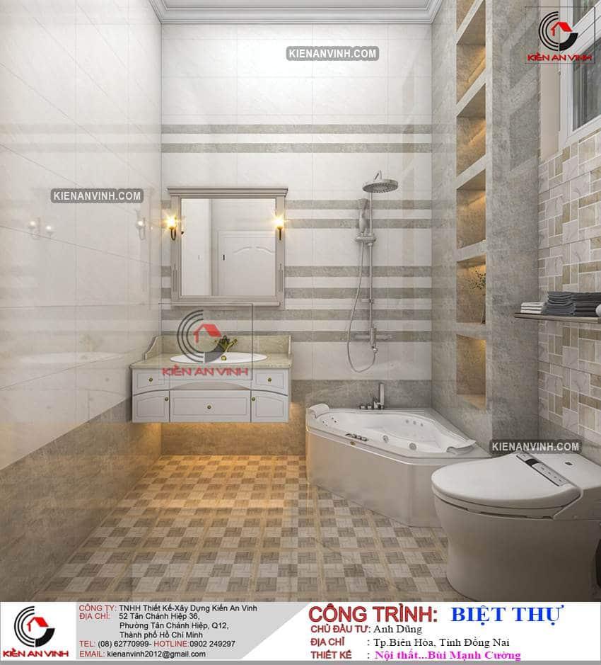 Nhà Biệt Thự 2 Tầng Tân Cổ điển Bt289 - 20