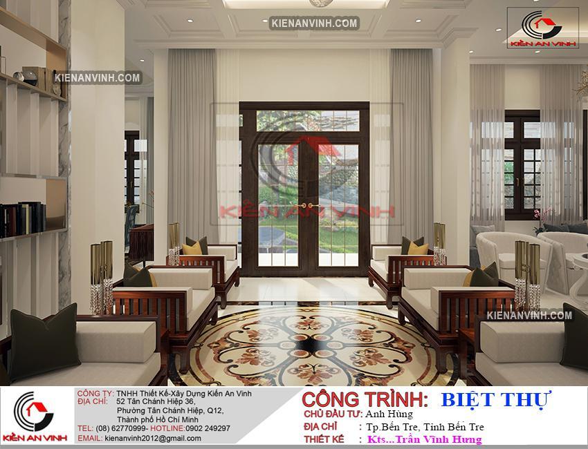 Biệt Thự 1 Tầng Mái Thái - 7