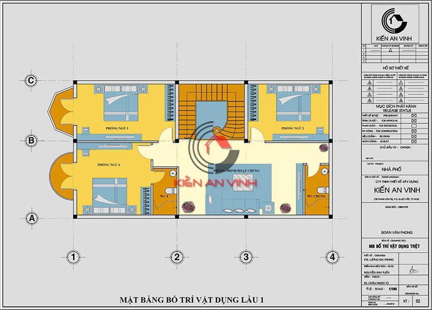 Biệt Thự 3 Tầng Diện Tích 120m2 Phong Cách Cổ điển - 10