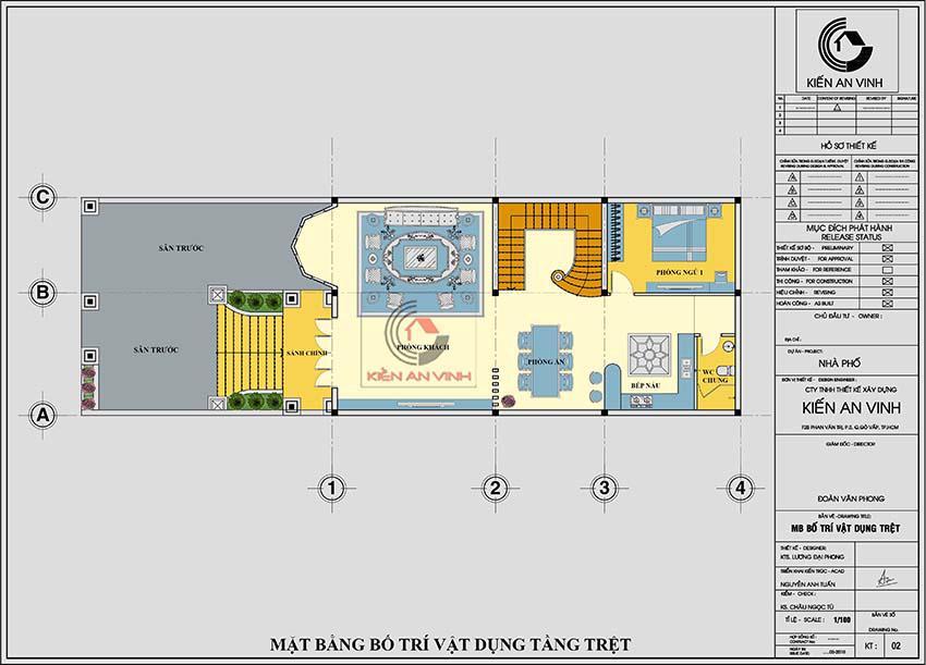 Biệt Thự 3 Tầng Diện Tích 120m2 Phong Cách Cổ điển - 9