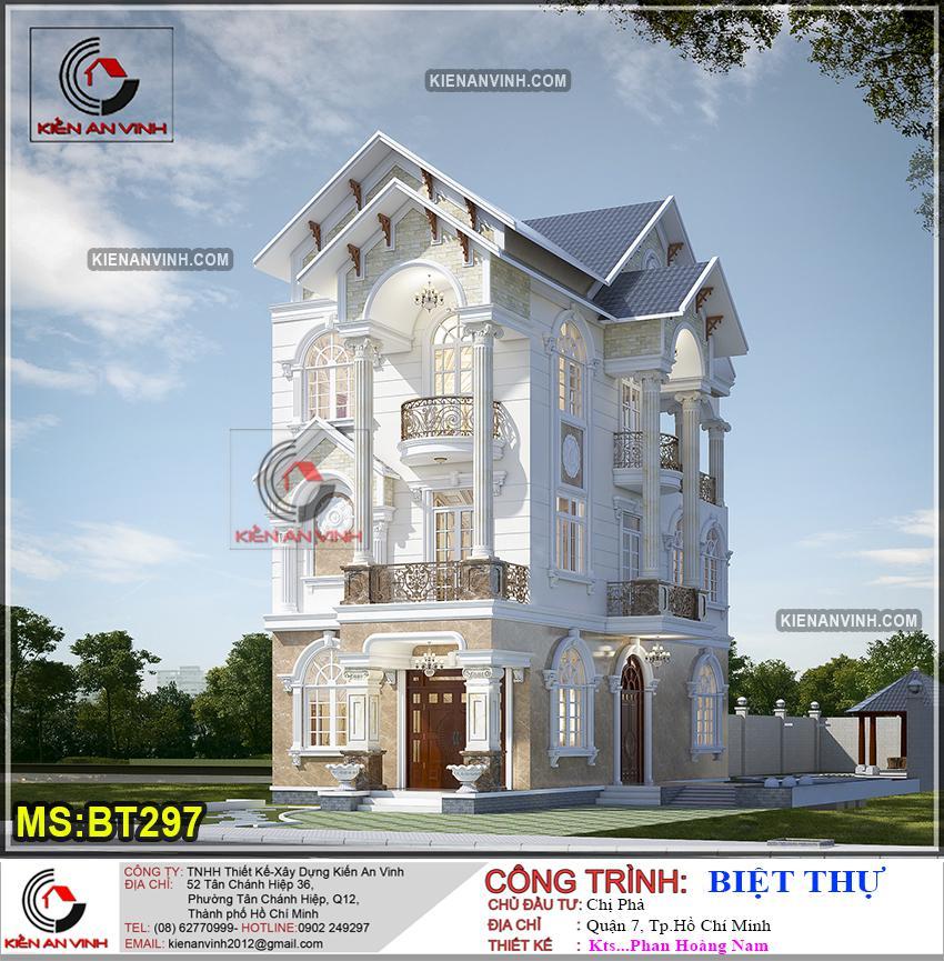 Biệt Thự 3 Tầng Mái Thái Bt 297 - 1
