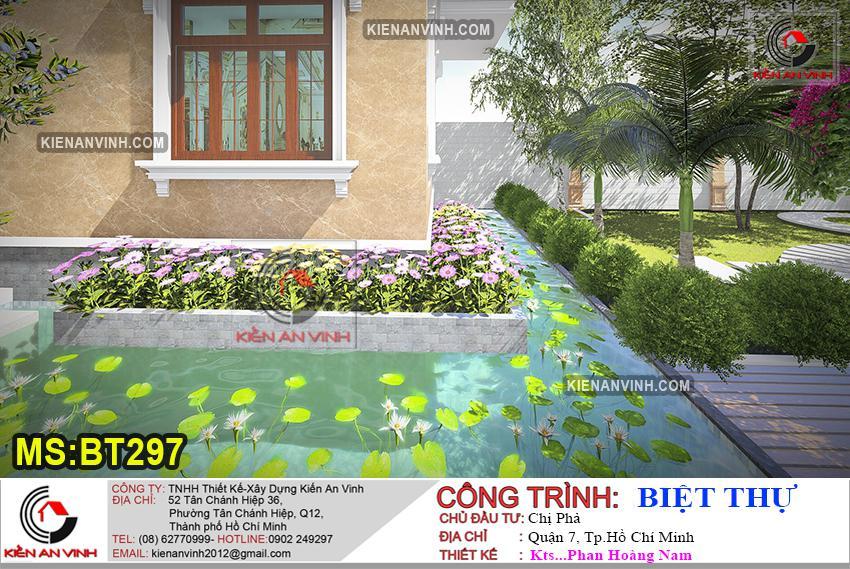 Biệt Thự 3 Tầng Mái Thái Bt 297 - 12