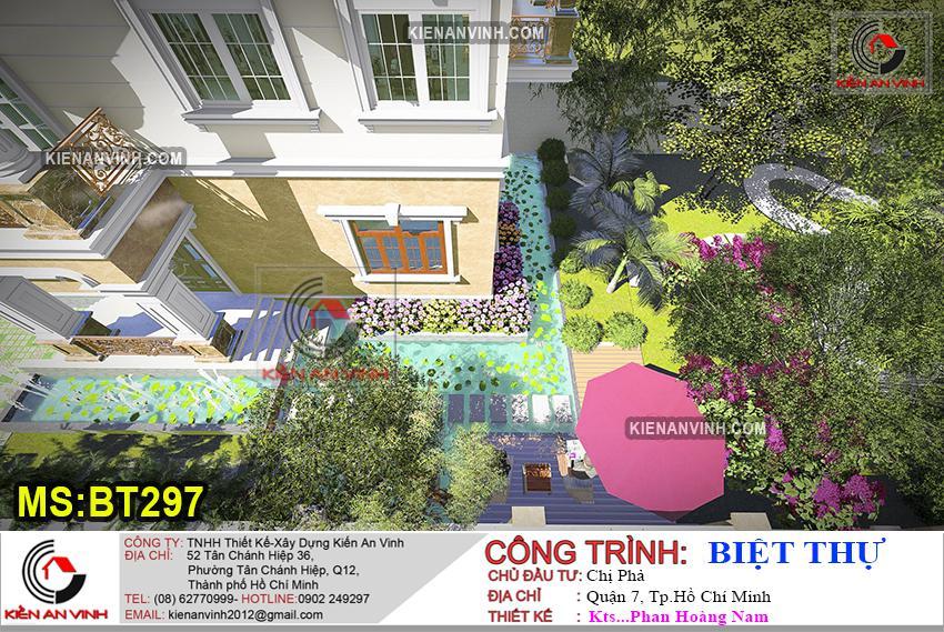 Biệt Thự 3 Tầng Mái Thái Bt 297 - 13