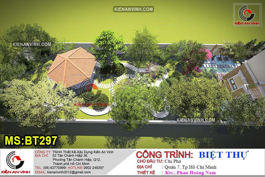 Biệt Thự 3 Tầng Mái Thái Bt 297 - 15