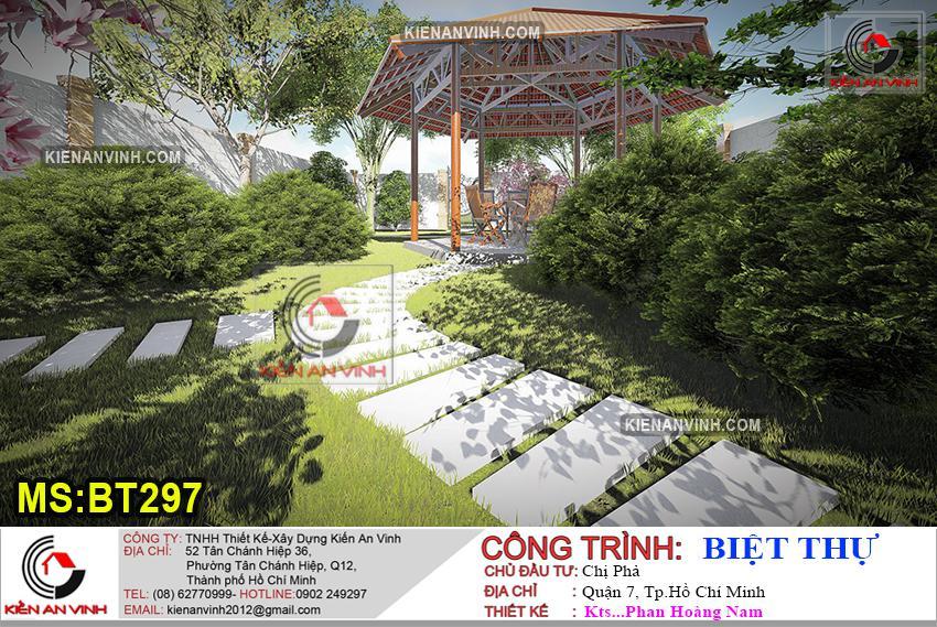 Biệt Thự 3 Tầng Mái Thái Bt 297 - 16