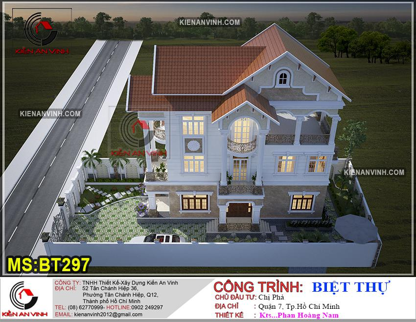 Biệt Thự 3 Tầng Mái Thái Bt 297 - 5