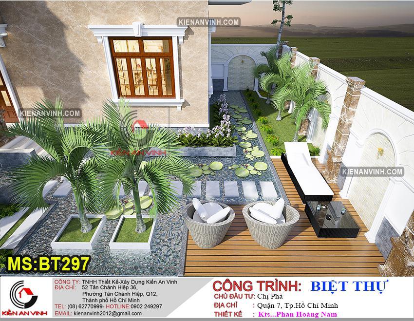 Biệt Thự 3 Tầng Mái Thái Bt 297 - 8