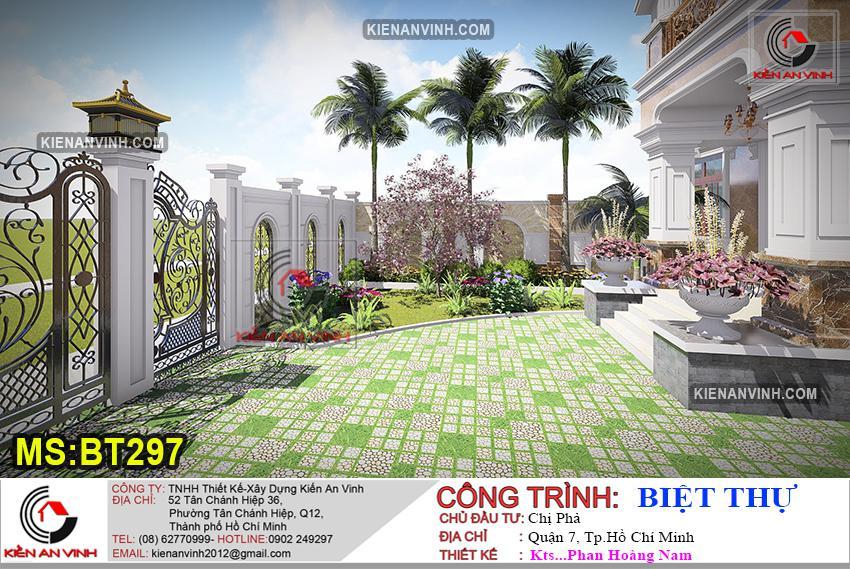 Biệt Thự 3 Tầng Mái Thái Bt 297 - 9