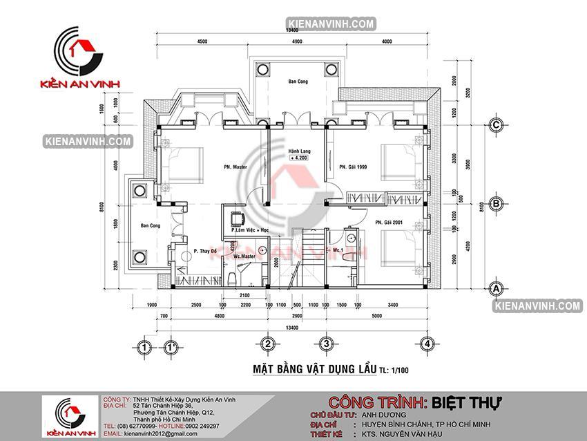 Biệt Thự Sân Vườn 1 Trệt 1 Lầu Bt 298 - 9