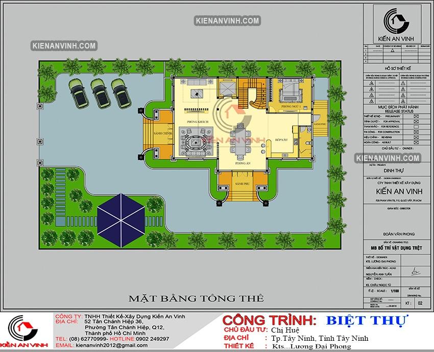 Kiến Trúc Biệt Thự Lâu đài 3 Tầng đẹp - 10