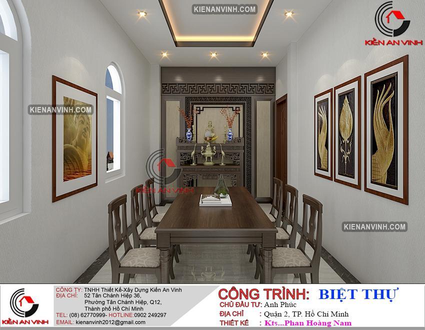 Kiến Trúc Biệt Thự Lâu đài 3 Tầng đẹp - 3