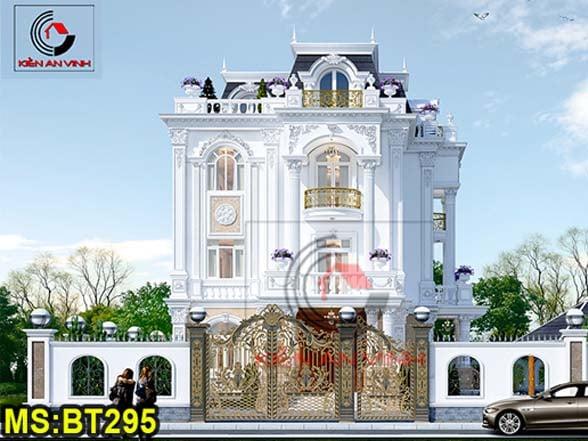 Kiến Trúc Biệt Thự Lâu đài 3 Tầng đẹp - Avatar