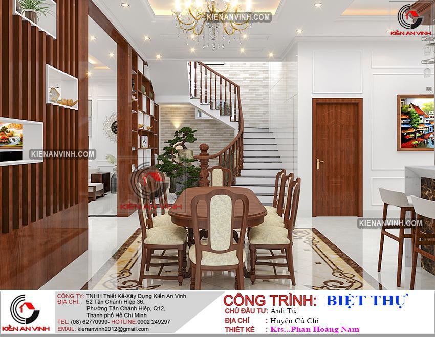 Mẫu Biệt Thự 2 Tầng 300m2 - 22