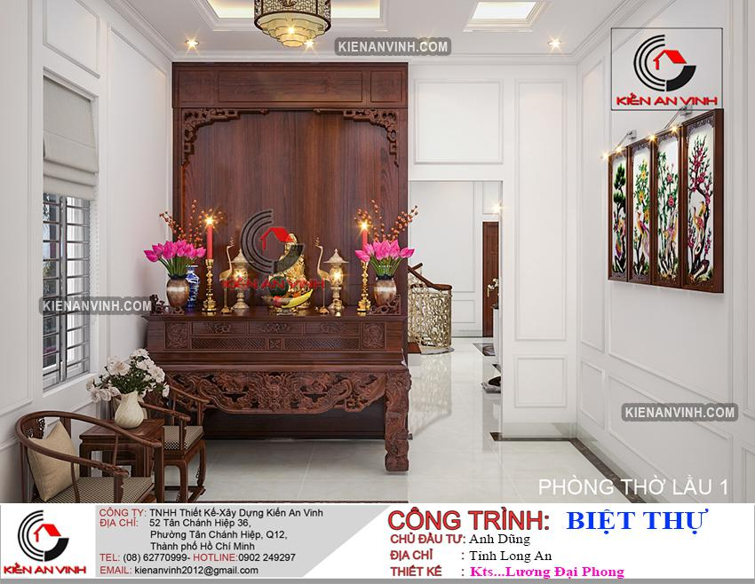 Bản Thiết Kế Biệt Thự 2 Tầng Mái Thái - 39