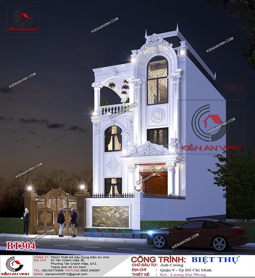 Biệt Thự 3 Tầng 8x15m Cổ điển - 7