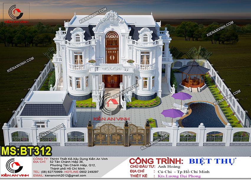 Biệt Thự Tân Cổ điển 2 Tầng Và Hồ Bơi Tuyệt đẹp - 3