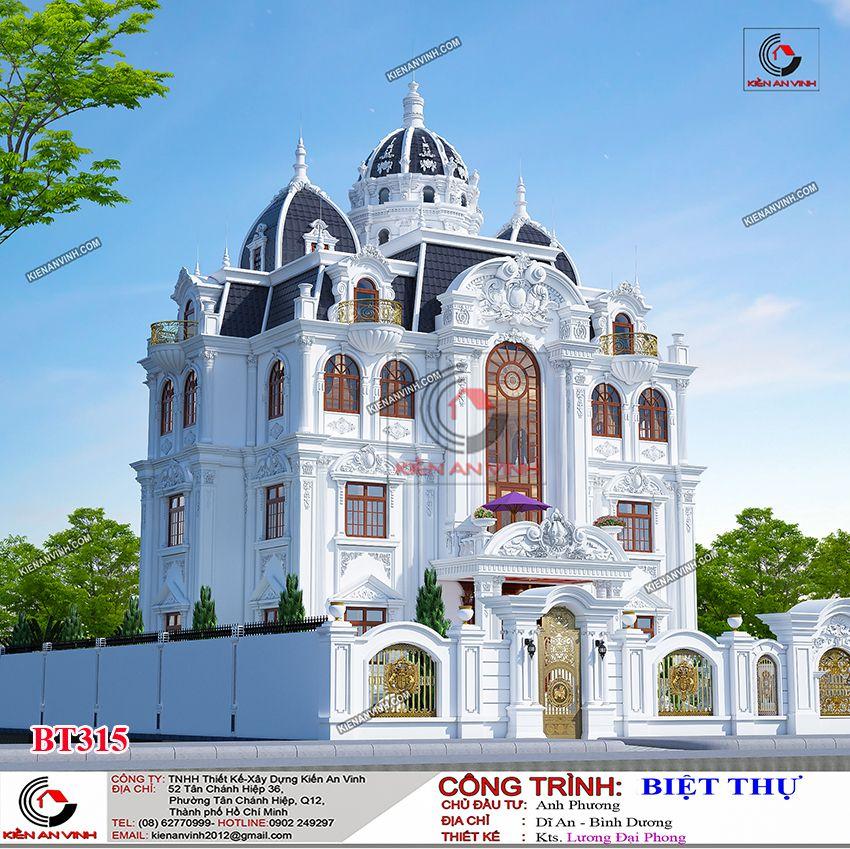 Biệt Thự Tân Cổ điển 3 Tầng 3