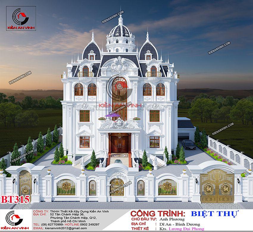Biệt Thự Tân Cổ điển 3 Tầng 6