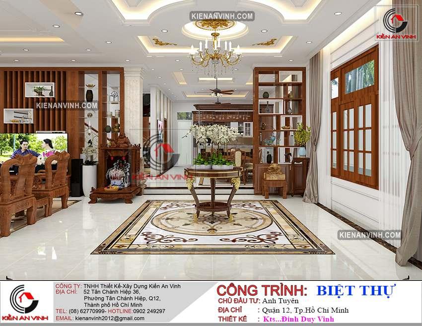 Dự án Biệt Thự 3 Tầng - Kiến Trúc Biệt Thự đẹp-11