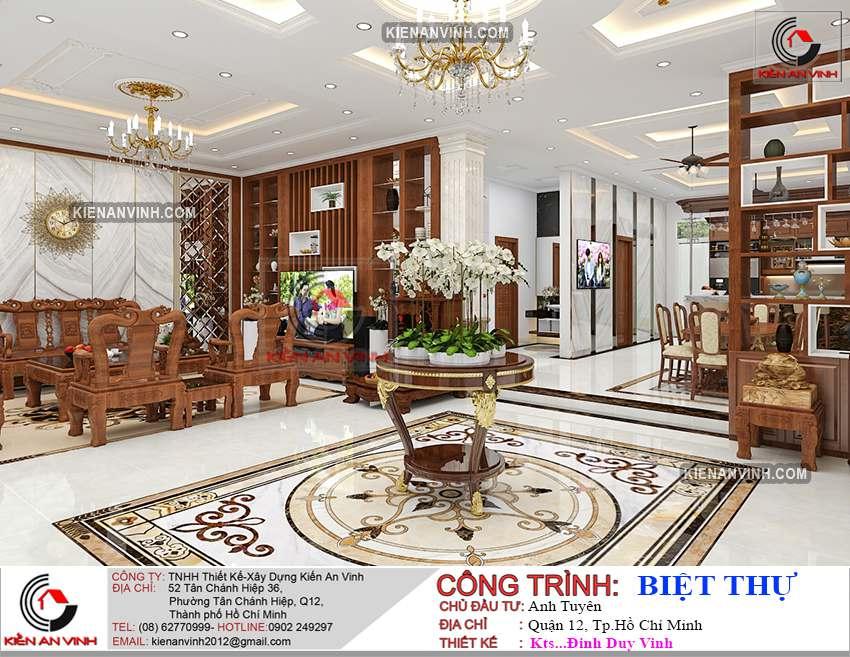 Dự án Biệt Thự 3 Tầng - Kiến Trúc Biệt Thự đẹp-16