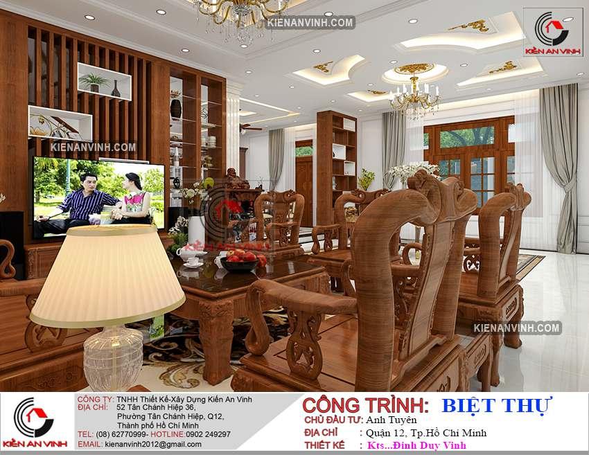 Dự án Biệt Thự 3 Tầng - Kiến Trúc Biệt Thự đẹp-17