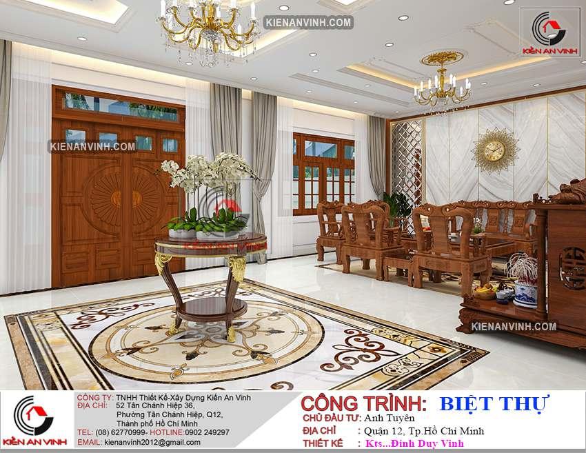 Dự án Biệt Thự 3 Tầng - Kiến Trúc Biệt Thự đẹp-19