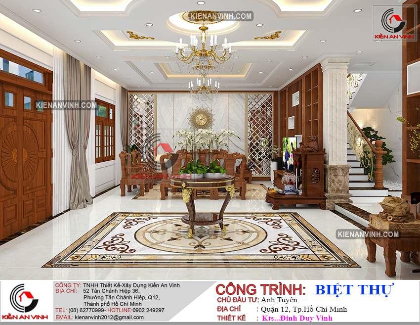 Dự án Biệt Thự 3 Tầng - Kiến Trúc Biệt Thự đẹp-31