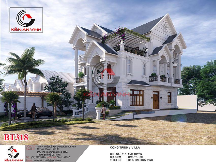 Dự án Biệt Thự 3 Tầng - Kiến Trúc Biệt Thự đẹp 4