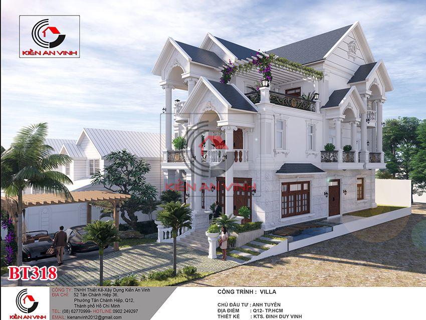 Dự án Biệt Thự 3 Tầng - Kiến Trúc Biệt Thự đẹp 5