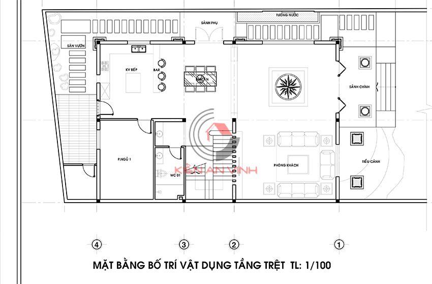 Dự án Biệt Thự 3 Tầng - Kiến Trúc Biệt Thự đẹp 7