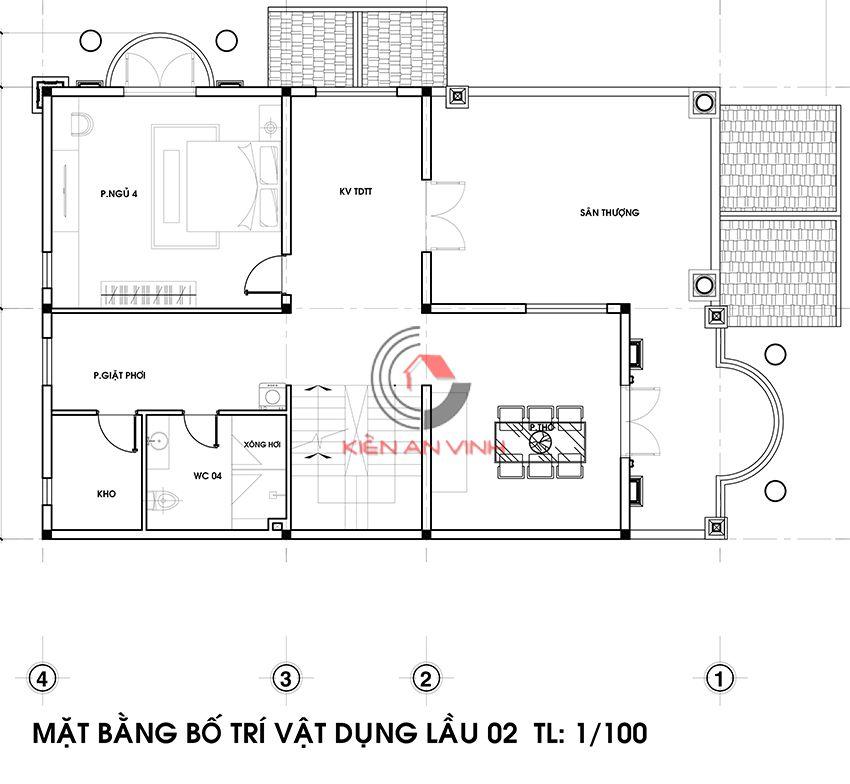 Dự án Biệt Thự 3 Tầng - Kiến Trúc Biệt Thự đẹp 9