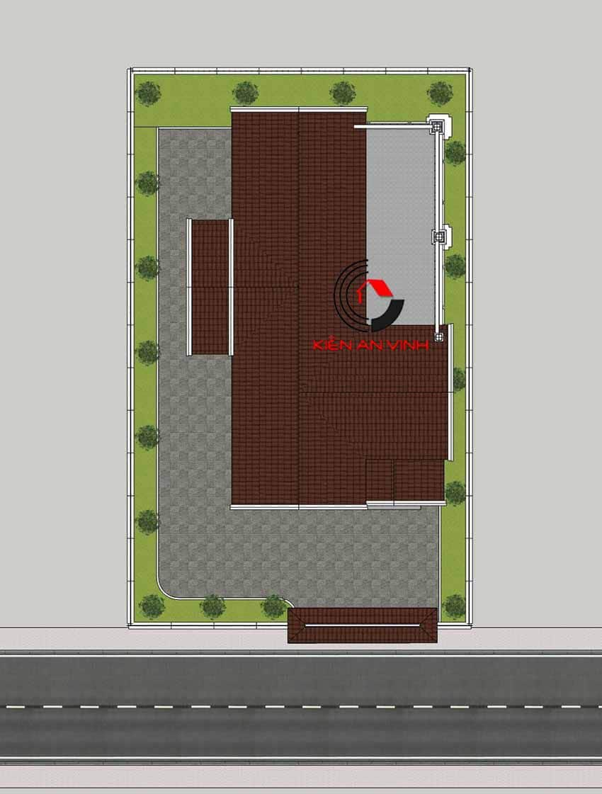 Mẫu Biệt Thự 3 Tầng Tân Cổ điển 15