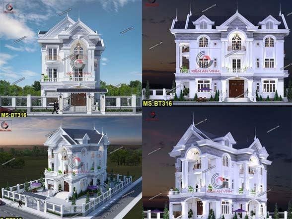 Mẫu Thiết Kế Nhà Biệt Thự đẹp 3 Tầng Avatar