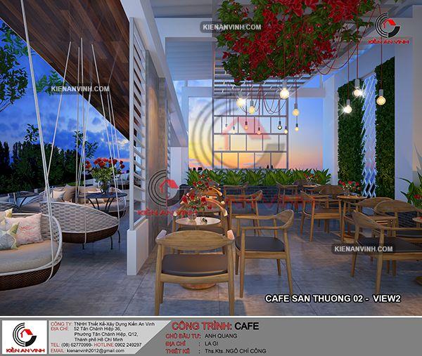 Thiết Kế Quán Cafe Phong Cách Châu âu 23