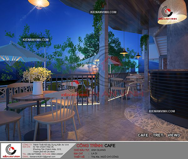 Thiết Kế Quán Cafe Phong Cách Châu âu 25
