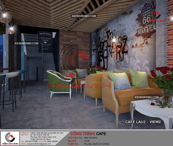 Thiết Kế Quán Cafe Phong Cách Châu âu 45