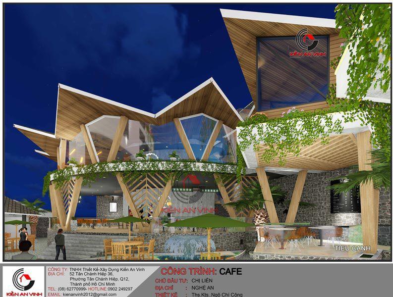 Thiết Kế Quán Cafe Vườn Diện Tích Mặt Tiền 20m 7
